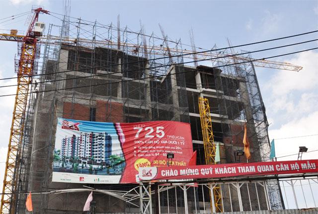 Hình ảnh thi công căn hộ ngày 11-10-2014