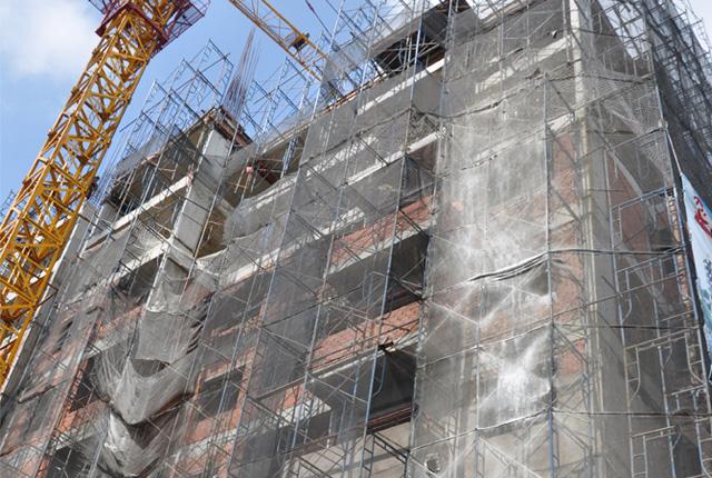 Hình ảnh thi công căn hộ ngày 11-11-2014