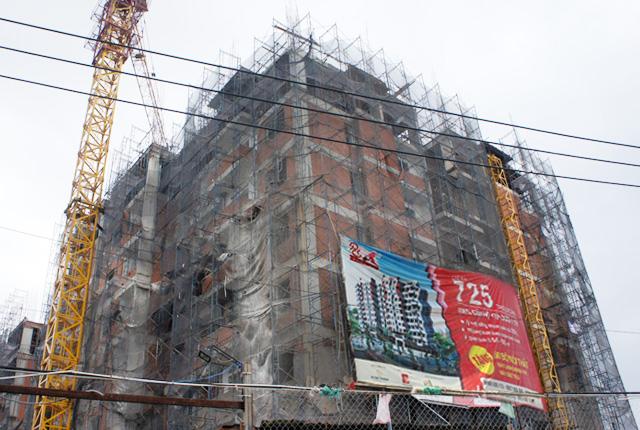 Hình ảnh thi công căn hộ ngày 13-12-2014