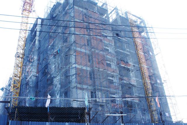 Hình ảnh thi công căn hộ ngày 17-01-2015