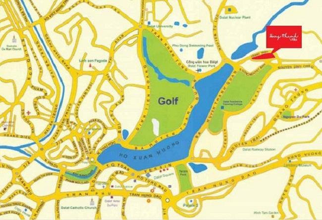Khu biệt thự hưng thịnh – Thành phố Đà lạt
