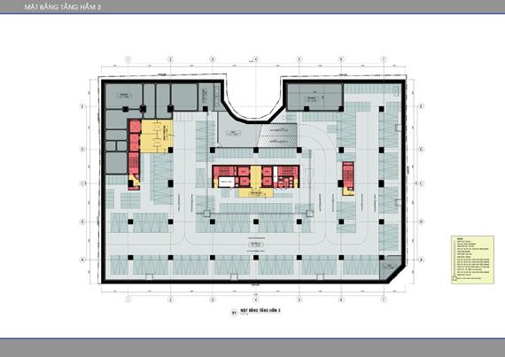 Mặt bằng căn hộ Léman C.T Plaza Nguyễn Đình Chiểu 2