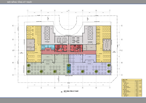 Mặt bằng căn hộ Léman C.T Plaza Nguyễn Đình Chiểu 10