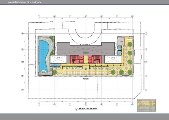 Mặt bằng căn hộ Léman C.T Plaza Nguyễn Đình Chiểu 3
