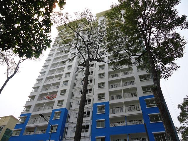 Mặt bằng căn hộ 155 Nguyễn Chí Thanh 2