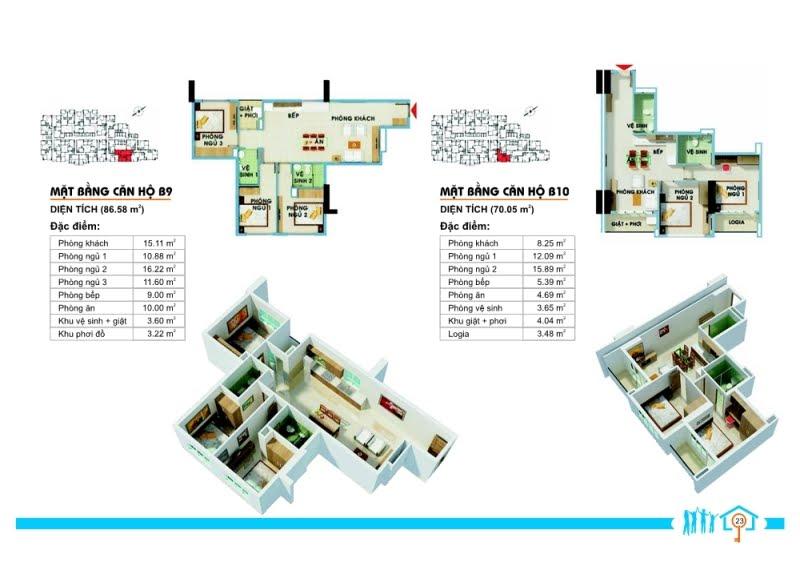 Mẫu Mẫu căn hộ The Era Lạc Long Quân 8