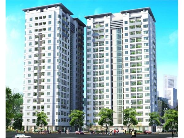 Mặt bằng tổng thể căn hộ 155 Nguyễn Chí Thanh