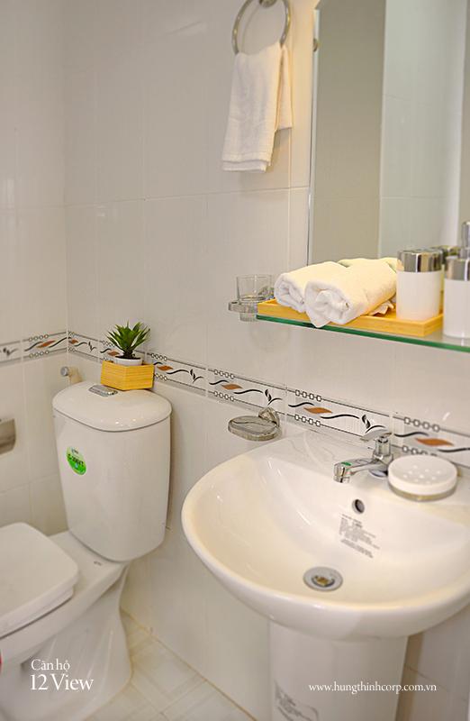Mẫu phòng tắm căn hộ 12 View