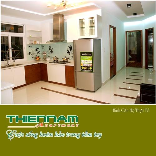 Nhà bếp căn hộ Thiên Nam Aparment