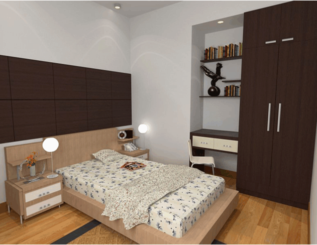 Mẫu căn hộ 8X Đầm Sen 2
