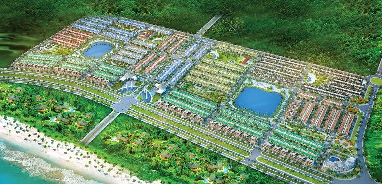 Phối cảnh tổng thể dự án Golden Bay