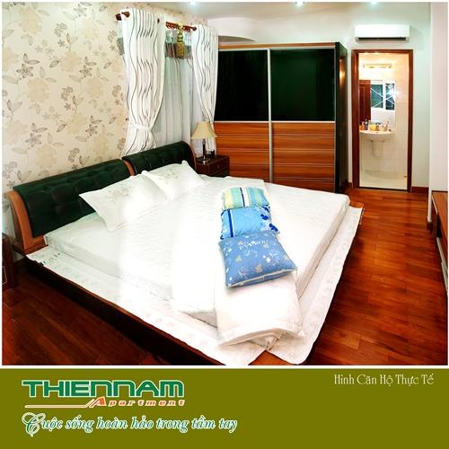 Phòng ngủ căn hộ Thiên Nam Aparment