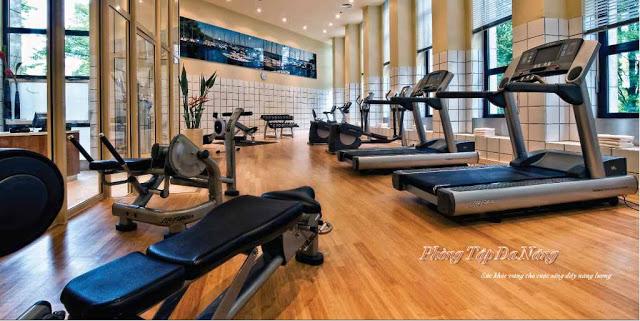 Phòng tập thể thao đa năng trên tầng 4 căn hộ đường Phạm Văn Hai