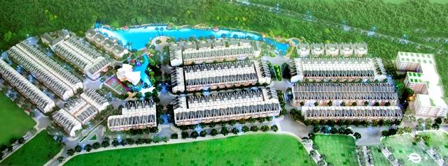 Mặt bằng tổng thể khu dân cư Hưng Thịnh (La Résidence Hung Thinh)