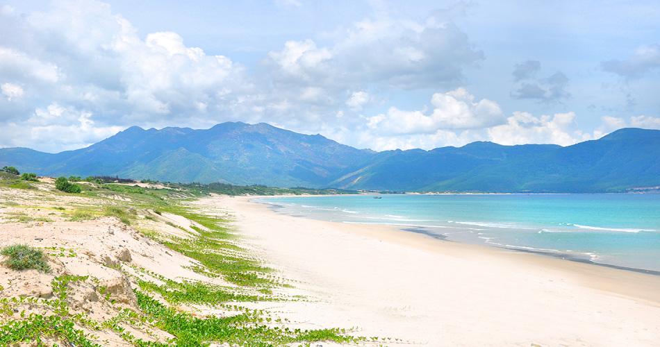 bãi biển xanh