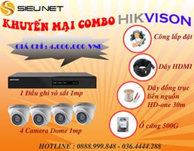 khuyến mại lắp đặt camera HIKVISION