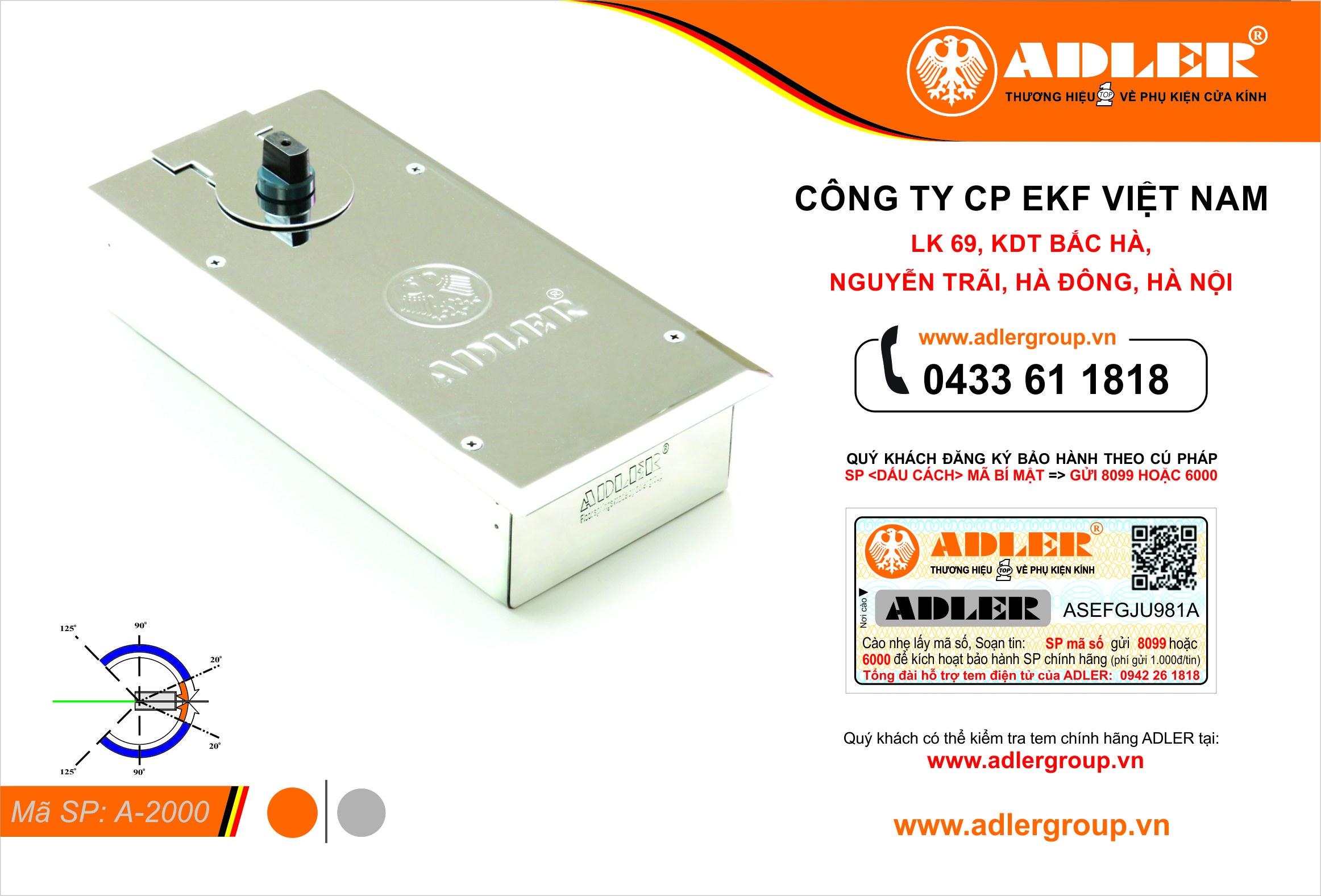 Sản phẩm Seri A : A1900 - A2000