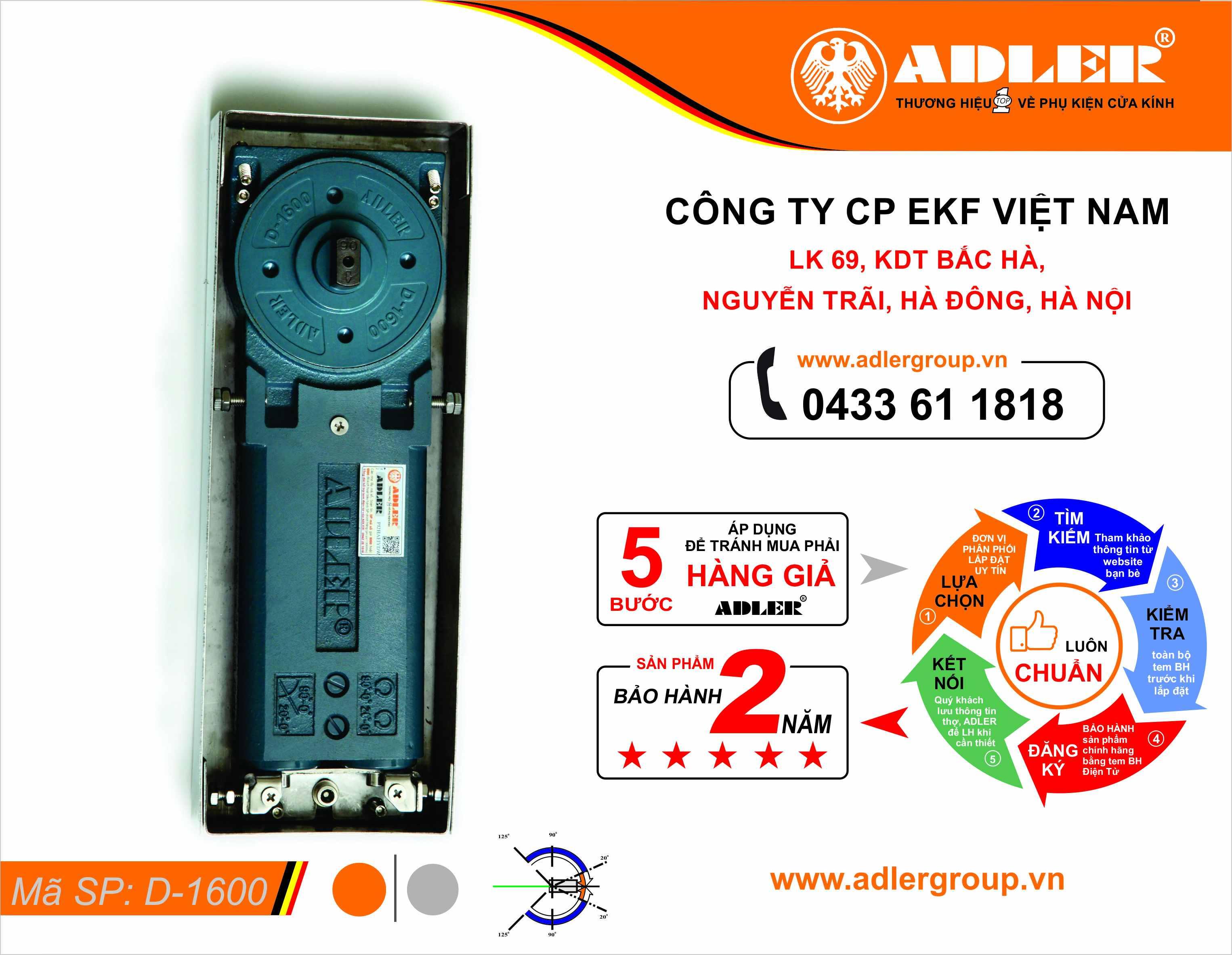 Bên trong thân BLS D1600