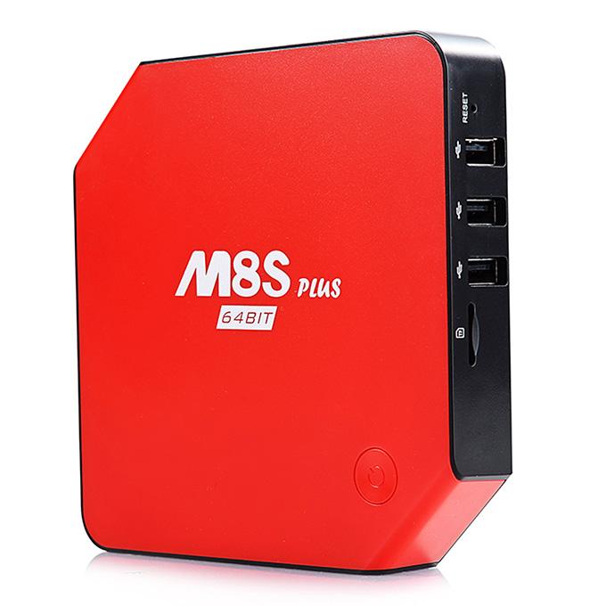 tv-box-m8s-plus đỏ