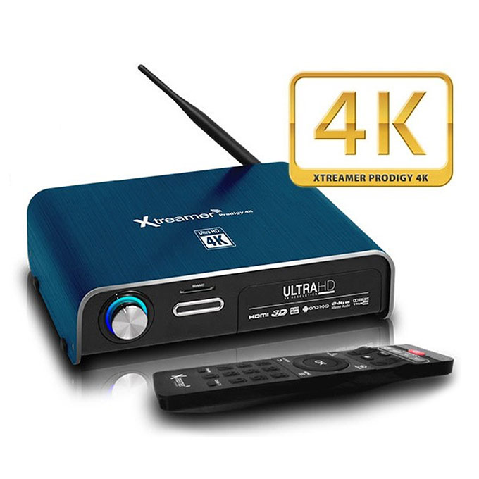 Android-tv-box-Xtreamer Prodigy 4k