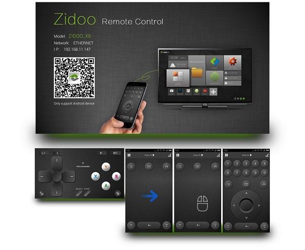 zidoo-rc-app