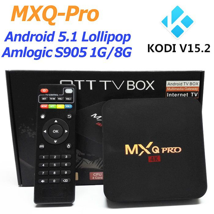 Android-tv-box-mxq-pro-4k