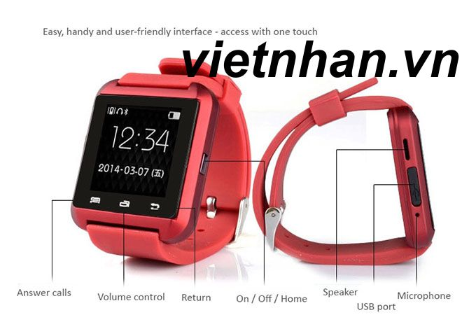 smartwatch watch u8