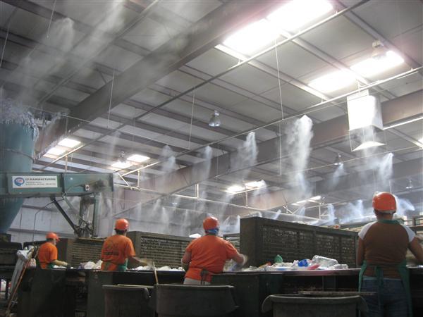 hệ thống máy phun sương làm mát