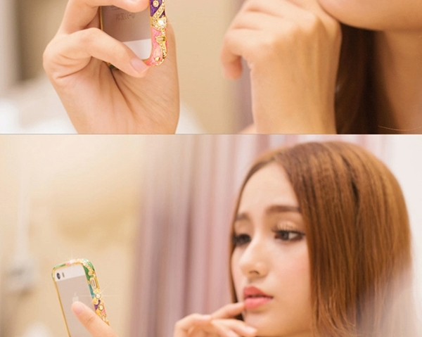 ốp viền iphone 5, 5s đính đá cao cấp