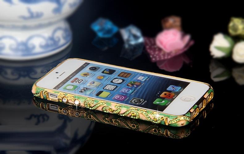 ốp viền iphone 5, 5s đính đá