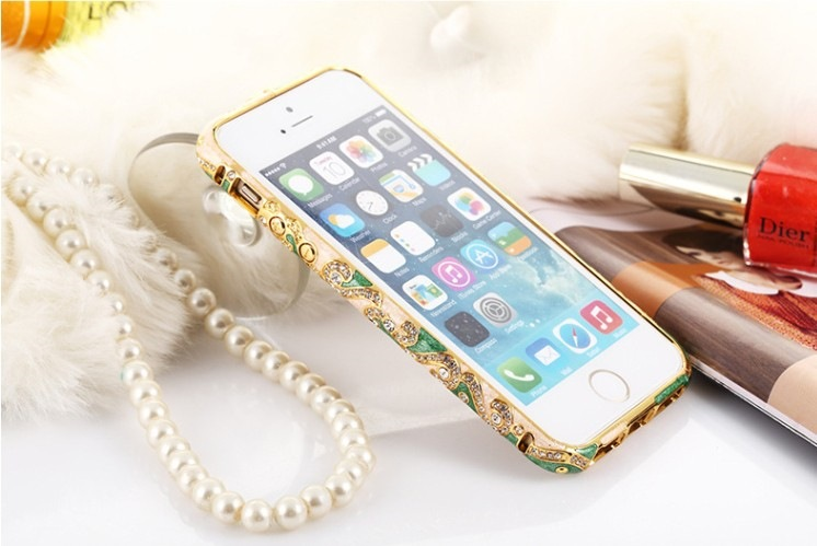 ốp viền iphone 5, 5s kim loại
