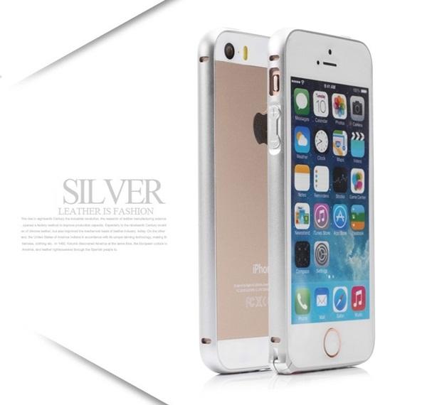 ốp viền iphone 5, 5s kim loại giả iphone 6