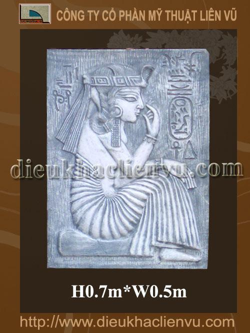 Phù điêu nữ hoàng Ai Cập