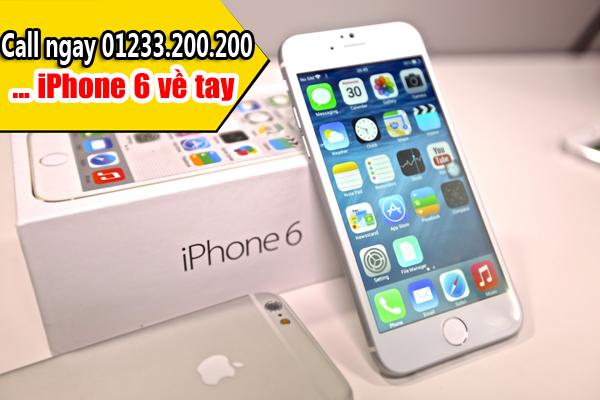 Đặt hàng iPhone 6