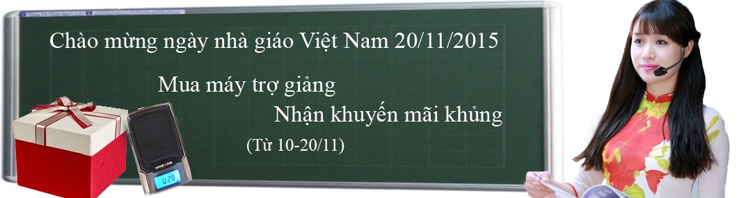 Mcrio chào mừng 20-11