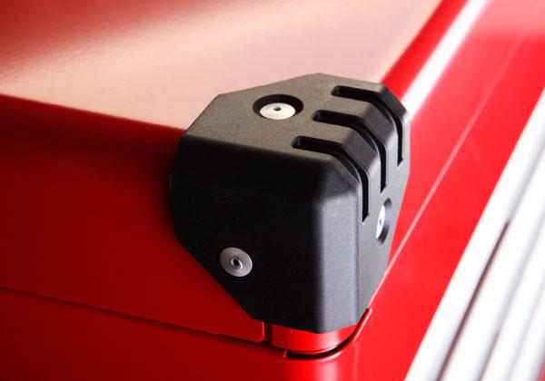 Các góc được bọc nhựa cao cấp, hộp đựng dụng cụ sửa chữa ô tô, EKR-1004R,