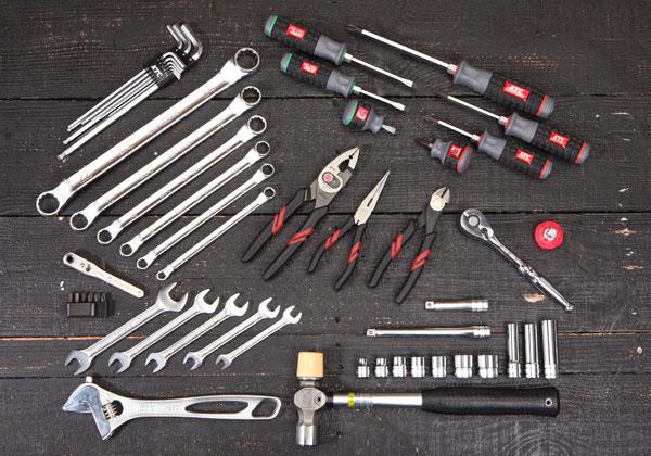 Bộ dụng cụ gia đình 53 chi tiết, bộ dụng cụ gia đình, bộ dụng cụ sửa chữa đa năng, KTC SK3536P