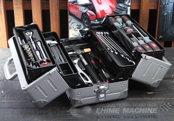 Bộ dụng cụ với hộp đựng loại EK-1, bộ dụng cụ sửa chữa đa năng, bộ dụng cụ nhập khẩu từ KTC Nhật