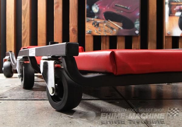 Xe chui gầm KTC, AYSC-20R, AYSC-20F, chiều cao sàn của xe chui gầm 105mm, xe chui gầm nhập khẩu từ KTC Nhật