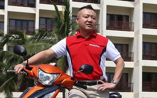 Tổng Giám đốc Honda Việt Nam Igrashi, thay tướng xe máy tại Honda,