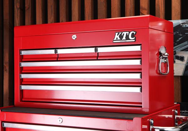 Hộp đựng dụng cụ sửa chữa, hộp đựng dụng cụ cầm tay, hộp đựng đồ nghề, thùng đựng đồ, KTC SKX3306, thùng đựng đồ 6 ngăn kéo,