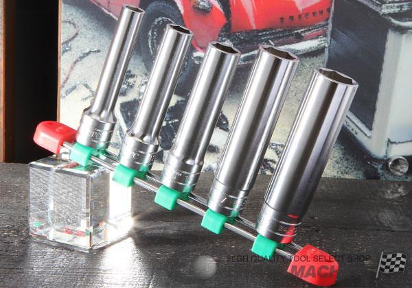 Bộ tuýp 1/2 inch từ 10 đến 19mm, KTC TB4L05, bộ đầu khẩu từ 10 đến 19mm loại 6 cạnh