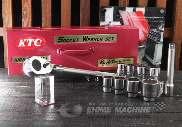 Bộ đầu tuýp 3/4 inch, bộ tuýp 3/4 inch, bộ đầu khẩu 3/4 inch KTC, KTC TB610,