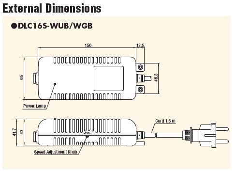 Bộ chuyển đổi điện Delvo, DLC16S Delvo, Delvo DLC16S-WGB