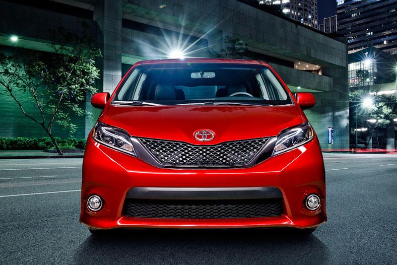 Toyota Siena, xe đa dụng SUV, MPV Siena 2015, xe gia đình 7 chỗ ngồi