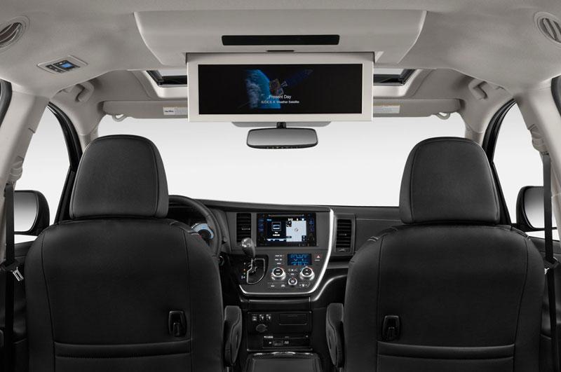 Nội thất rộng rãi, trang thiết bị cao cấp trên Toyota Siena, Toyota Siena 2015