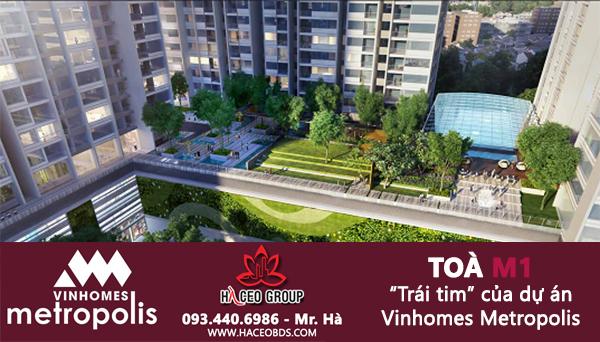 Toà nhà M1 - Vinhomes Metropolis - Hà CEO Group