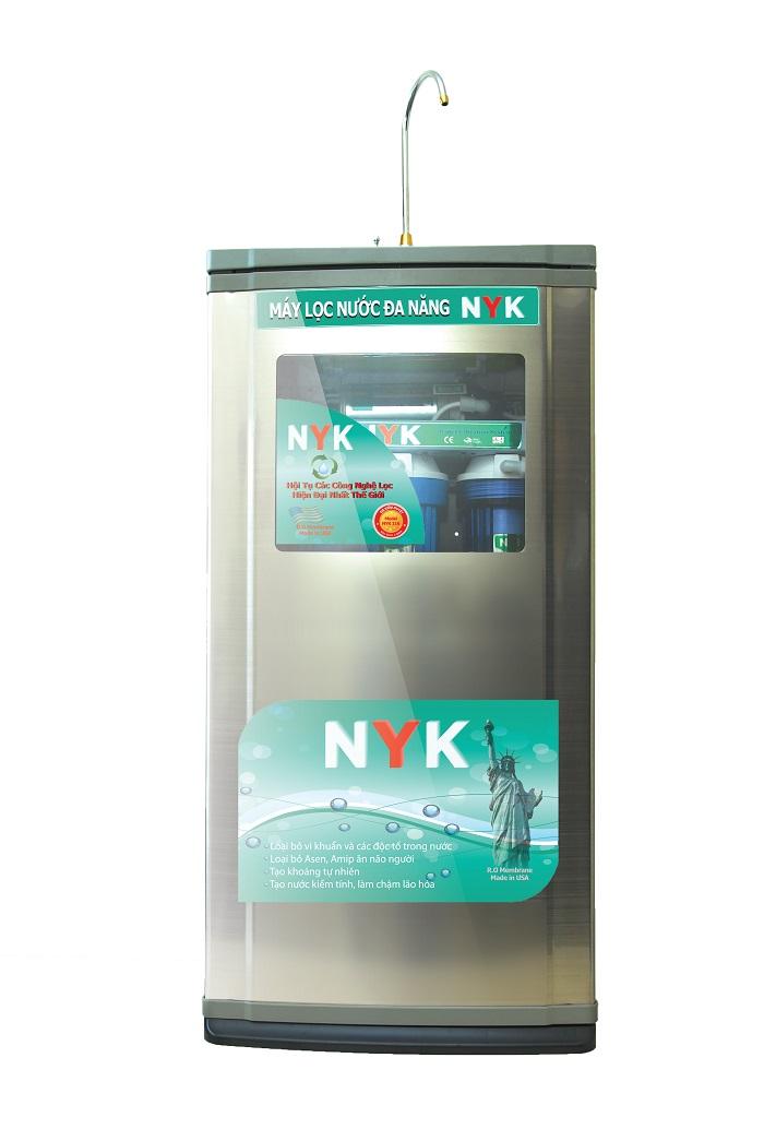 Máy lọc nước RO vỏ tủ Inox
