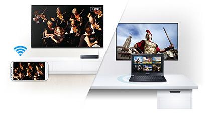 Smart View kết nối với TV, các thiết bị và nội dung của bạn