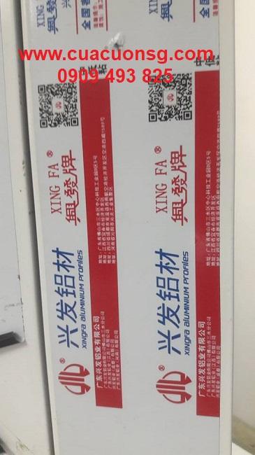 Nhôm Xingfa tem đỏ nhập khẩu chính hãng